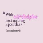 Selfdissipline