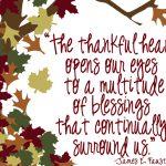 Sewe dae van dankbaarheid