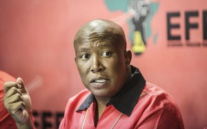 Julius Malema. Photo: Eye Witness News.