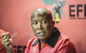 Julius Malema. Photo: Eye Witness News.